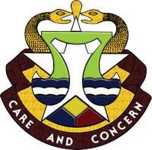 Carl R. Darnall Army Medical Center - Darnall Army Medical Center distinctive unit insignia