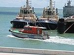 Darwin Port Corporation Pilot Vessel John Grice February 2012 (6840681007).jpg