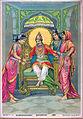 Dasharatha give Payasa to his wives.jpg