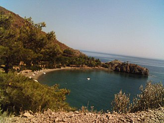 Datça - A small cove in Datça