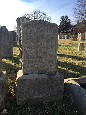 David Herold - The unmarked grave of David Herold in the Congressional Cemetery.