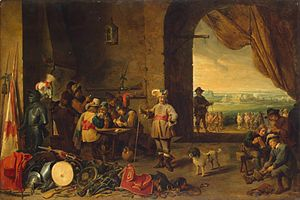 David Teniers (II) - Guardroom - WGA22087.jpg