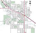 Dawson Creek BC Road Network.jpg