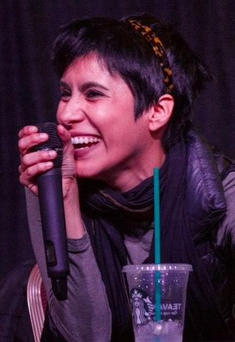 Cristina Vee - Vee at Newcon 5 in 2017