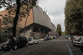 Eurovision Song Contest 1965 - Sala di Concerto della RAI, Naples – host venue of the 1965 contest.