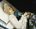 Deathbed portrait of Toropets merchant woman by anonim (19 c., Egorievsk).jpg