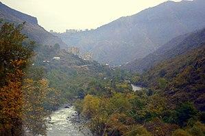 Debed - Debed river near Alaverdi