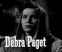 Debra Paget in Cry of the City trailer.jpg