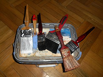Paintbrush - Decorators' brushes