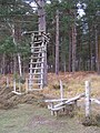 Deer stalking seat on the edge of Poundhill Inclosure, New Forest - geograph.org.uk - 277778.jpg