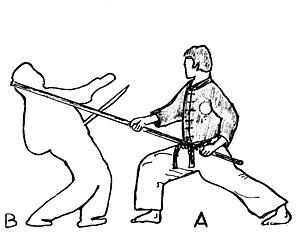 Banshay - Image: Defense contre sabre