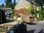 Delivery of wood, Kirk Mills - geograph.org.uk - 934071.jpg