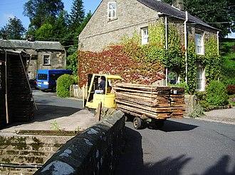 Kirk Mill - Kirk Mills Delivery of Wood