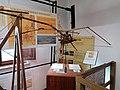 Deltaplano di Leonardo da Vinci in una mostra su Leonardo da Vinci al Mulino di Mora Bassa - Morabassa.jpg