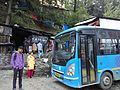 Delux bus at Lakkar bazar bus stand.jpg