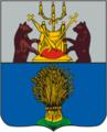 Demyansk COA (Novgorod Governorate) (1855).png