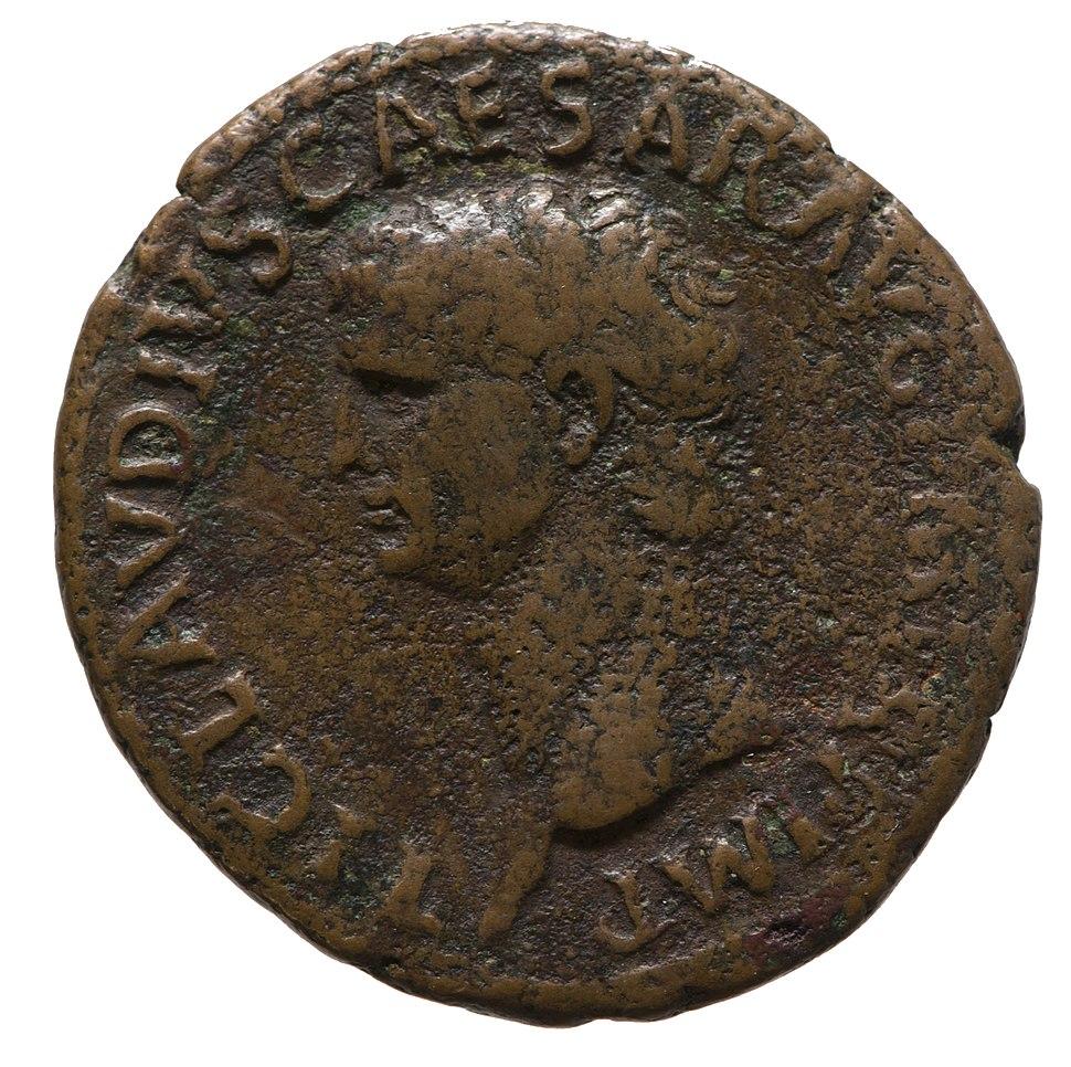 Denarius of Claudius (YORYM 2001 1433) obverse