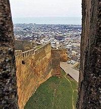 200px Derbent wall ذوالقرنین یا کورش کبیر  | عکس تصاویر تاریخ باستان تمدن عکسهای