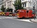 Des pompiers, avenue Berthelot (Lyon), en marge d'une manifestation de gilets jaunes (5).jpg