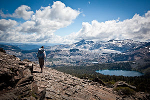 Desolation Wilderness - Desolation Wilderness from Mount Tallac