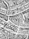 detail plattegrond door j. van werven uit 1744 - leiden - 20133411 - rce