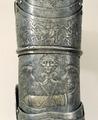 Detalj av höger armskena till Erik XIVs rusting - Livrustkammaren - 48135.tif
