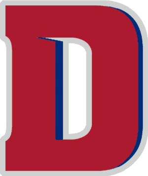 1976–77 Detroit Titans men's basketball team - Image: Detroit Titans wordmark
