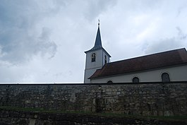 Develier village church