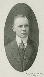Dick Carroll estis la unua trejnisto de la klubo (1917-19)