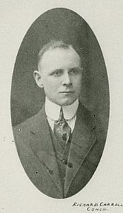 Dick Carroll was the first coach of the club (1917-19)