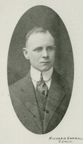 Toronto Maple Leafs - Dick Carroll was the first coach for the club. Coach from 1917 to 1919. He won one Cup with the Arenas.
