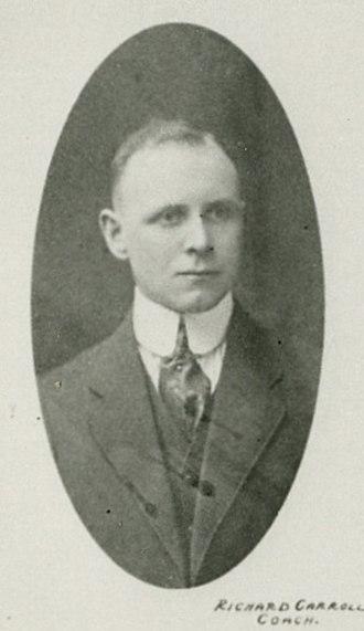 Dick Carroll - Carroll in the 1917–18 season.