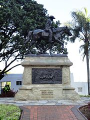 equestrian statue of Dick King