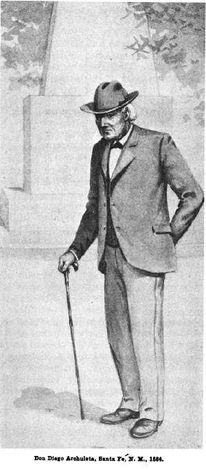 Diego Archuleta - Image: Diego Archuleta 1884Hst Milit Occ NM