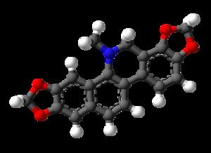 Dihydrosanguinarine - Image: Dihydrosanguinarine 3D balls