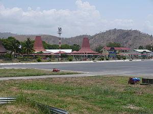 Presidente Nicolau Lobato International Airport - Image: Dili Intl terminal