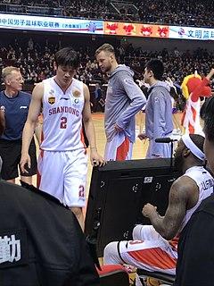 Ding Yanyuhang Chinese professional basketball player