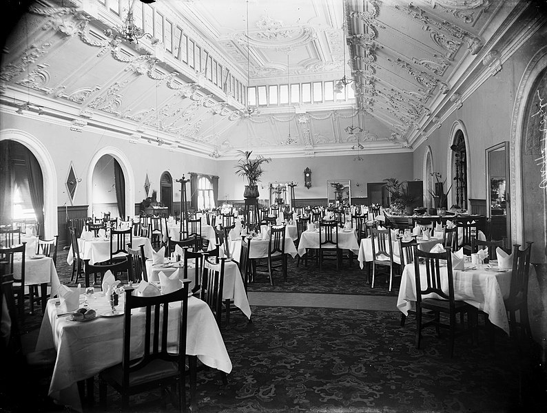Public Dining Room Christmas