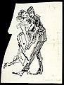 Disegno per copertina di libretto, disegno di Peter Hoffer per Amelia al ballo (s.d.) - Archivio Storico Ricordi ICON012475.jpg