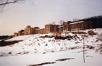 Dixmont State Hospital - Dixmont State Hospital in 2005