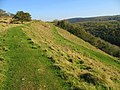 Dolebury Hillfort southern ramparts - geograph.org.uk - 593107.jpg