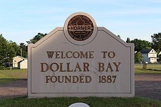 Dollar Bay, Michigan Census-designated place & unincorporated community in Michigan, United States