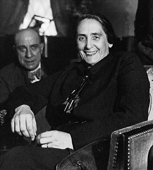 World Committee Against War and Fascism - Dolores Ibárruri of Spain in 1936
