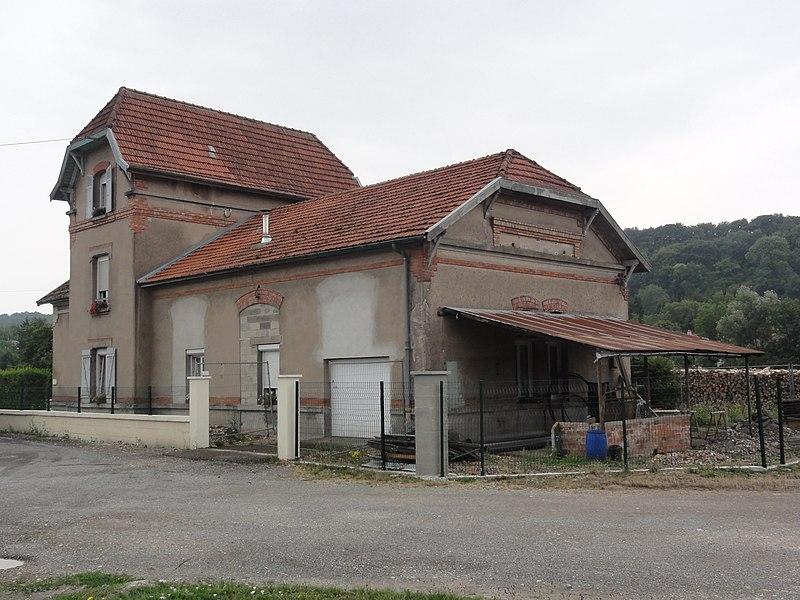 Dombasle-en-Argonne (Meuse) ancienne gare
