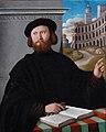 Domenico Capriolo Retrato de Lelio Torelli 1528 Bowes Museum.jpg
