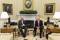 Donald Trump and Pedro Pablo Kuczynski in the Oval Office, February 24, 2017.jpg