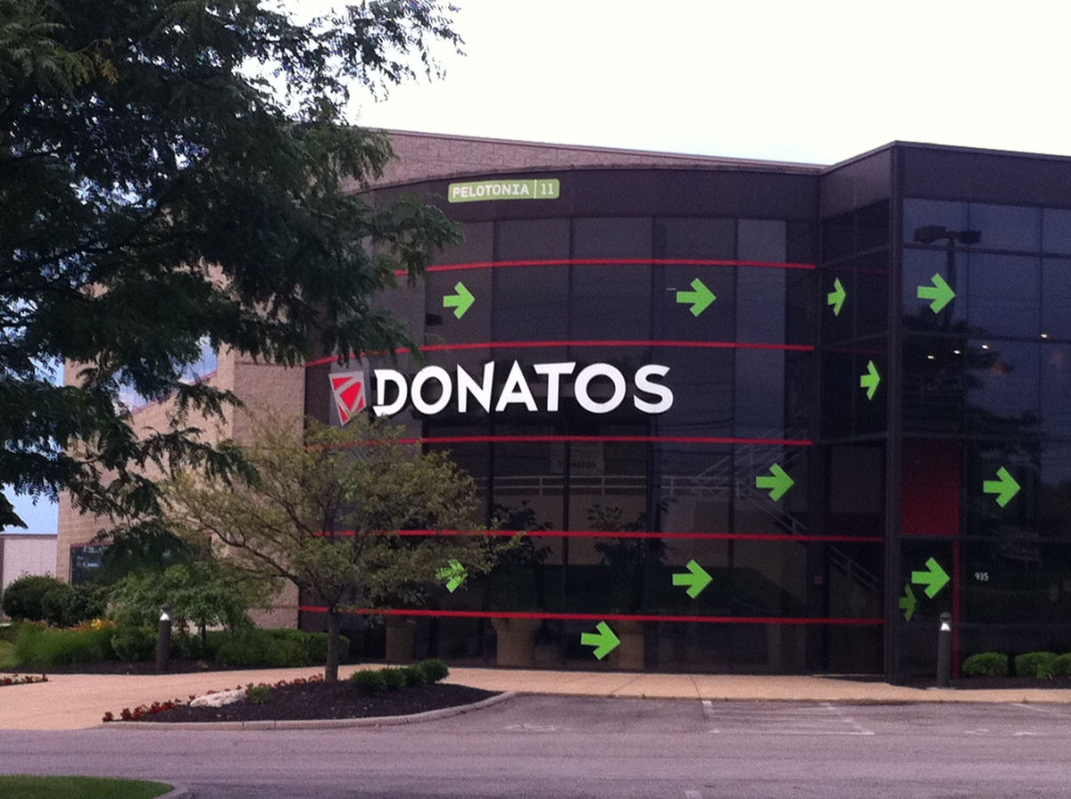 image relating to Donatos Printable Coupon referred to as Donatos pizza coupon codes columbus ohio - Specials guide coupon