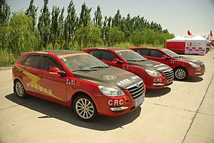 Dongfeng H30 as a racing car -- Zhangye CRC 2011