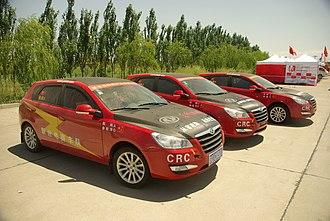 Dongfeng Fengshen - Dongfeng Fengshen H30 as racing cars
