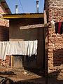 Double vault UDDT in Kamokya, Kampala (4331539461).jpg